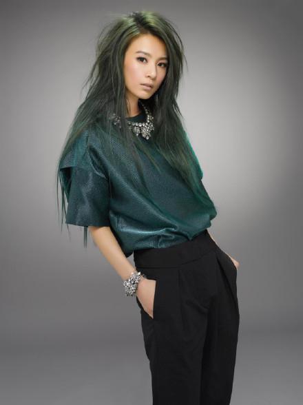 田馥甄-髮色