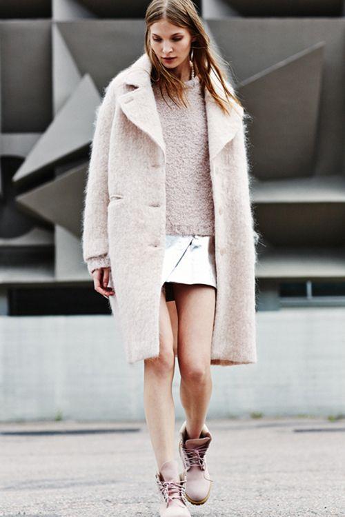 Blush Pink Street-Style